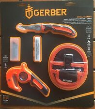 Gerber Vital Pocker Folder Folding knife & Zip Blade + Sheath Combo 3194