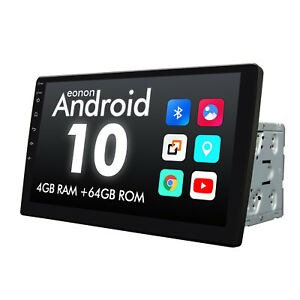"""10.1"""" IPS Android 10 8-Core Double 2Din InDash Car GPS Navigation Radio WiFi DSP"""