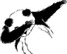 Sticker Panda DAB - 57x46 cm chacun
