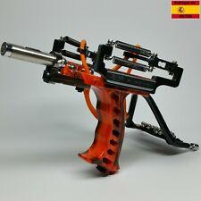 Tirachinas slingshot deportivo de metal, profesional, caza, pesca, competición