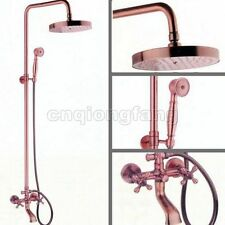 Copper Wall Mounted Bathroom Taps