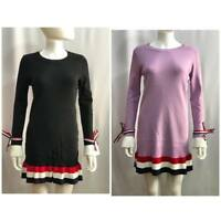 Women Italian Top Sweater Blouse Ladies Dress Jumper Sweater Tops Dress