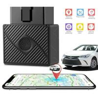 Car OBD 2 GPS Tracker GSM SIM Realtime GPRS Vehicle  Security Devic J8D9