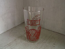 Vintage Federal Glass Steamboat When You Were Sweet 16 Drinking Tumbler  8 oz