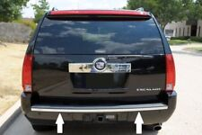 CHROME REAR BUMPER TRIM MOLDING PACKAGE TAILGATE For CADILLAC ESCALADE 07-14