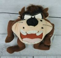 "Looney Tunes Taz Plush 8"" Doll Stuffed Animal 1997 Vintage Play By Play Devil"