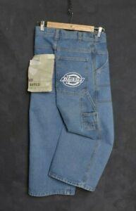 Vintage Dickies Men Jean W26 L21 Workwear Chore ENGINEERED Denim Stonewash Pant