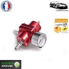 Régulateur de Pression d'Essence Réglable Rouge pour Peugeot 205 Rallye
