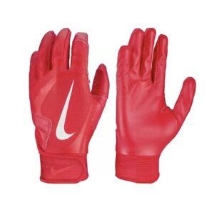 NEW Nike Alpha Huarache Edge Large Baseball Batting Gloves Red Unisex Adult L