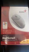 Genius Netscroll Inteligent Wheel USB+PS/2 Mouse