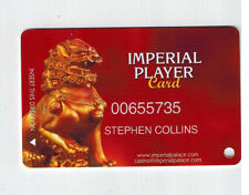 IMPERIAL PALACE Las Vegas Casino Slot Cards / VIP IMPERIAL Player C~ I COMBINE