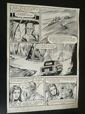 Jolie Planche originale Documents à vendre OSS 117 Aredit 1970 pl 115