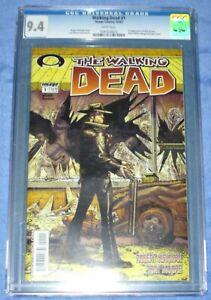 SUPER RARE The Walking Dead 1 BLACK MATURE READER LABEL First Print CGC 9.4