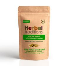 Herbal Traditions Sibérien Ginseng Capsules - Naturel Énergie Supplément