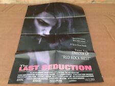 1993 The Last Seduction Original Movie House Full Sheet Poster
