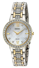 Seiko Women's Two-Tone Crystal Collection Watch