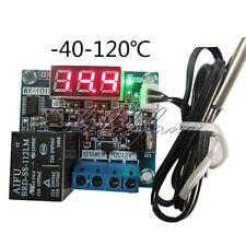 DC12V Intelligent Digital Led Thermostat Temperature Controller Sensor -40-120°C