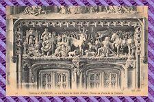 CPA 37 - Chateau d'Amboise - La chasse de Saint Hubert, dessus de la porte......