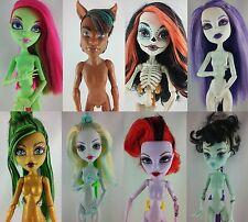 Monster High muñecas Shop 3 Basic Dolls Custom Repaint OOAK venus frankie Gil