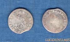 Louis XIV, 1643-1715 – 4 Sols aux 2 L 1691 Atelier illisble B / TB