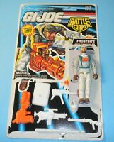 1993 GI Joe Battle Corps #12 Frostbite v3 Figure w/ File Card Back *Not Complete