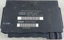05-08 AUDI A4 A4Q S4 CENTRAL ELECTRONIC COMFORT CONTROL MODULE UNIT 8E0959433CG