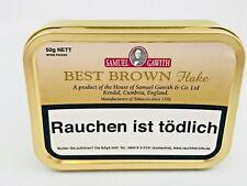 Samuel Gawith Best Brown Flake Pfeifentabak / 50g Dose Pfeife Tabak