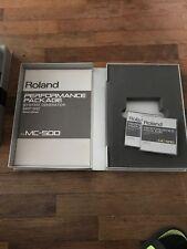 ROLAND MC 500 MRP 500 PERFORMANCE PACKAGE SYSTEM GENERATOR