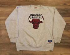 Chicago Bulls Vintage 90s Nutmeg Mills Sewn NBA Basketball Sweatshirt Mens Large