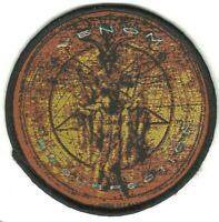 VENOM resurrection RARE circular WOVEN SEW ON PATCH - official - no longer made
