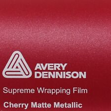 21,70€/m ² Avery Supreme ENVOLTURA FILM Cherry Estera metálico mate swf