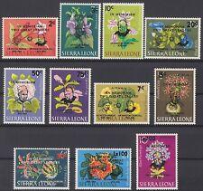 SIERRA LEONE MiNr. 317 - 327 postfrisch