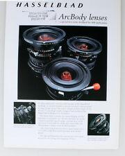 Hasselblad Arcbody Lenses Brochure