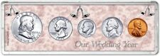 Our Wedding Year Coin Gift Set, 1958
