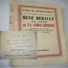 RENÉ BERAULT et ANNE DE LA GIROUARDIERE  Fondateurs de l'Institut des Filles