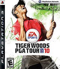 PlayStation 3 : Tiger Woods PGA Tour 10 VideoGames