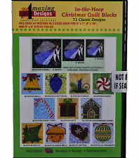 In-The-Hoop Christmas Quilt Blocks