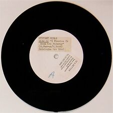 """MYSTERY GIRLS 'I PROMISE TO ROCK YOU FOREVER' UK WHITE LABEL 7"""" SINGLE"""