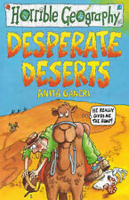 NEW -  DESPERATE DESERTS  -  HORRIBLE GEOGRAPHY (OLD COVER) Histories