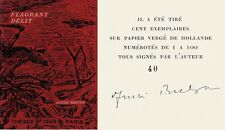RARE EO N° & SIGNÉE + ANDRÉ BRETON : FLAGRANT DÉLIT ( TIRAGE DE TÊTE )