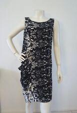 Mesop Dress 100 Silk Side Gather Size 1 12