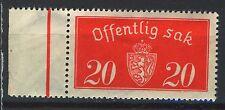 Norway 1933, T14, Stamp with margin MNH, Hi cat!
