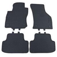 Premium Gummi Fußmatten Set Schwarz für VW Golf 7 Limousine Variant ab 12