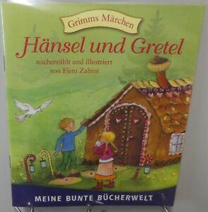 Hänsel und Gretel Märchen Kinder Buch Lesen Vorlesen Gutenacht Bilder ST156