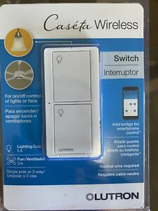 Caseta Wireless Switch For On/off Control Of Lights Or Fans LUTRON