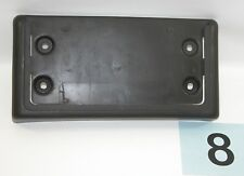 02-09 GMC Envoy Black Plastic Front License Plate Mounting Bracket  #8
