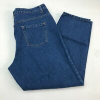 Route 66 Denim Jeans Mens 38X30 Blue Relaxed Fit Straight Leg Cotton Medium Wash