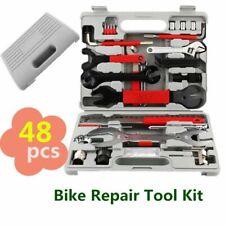 48 Pezzi Kit Strumenti di Bicicletta Riparazione Bici Auto Manutenzione