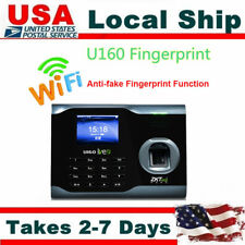 "3"" Color TFT Screen Fingerprint Biometric Wifi Time Attendance USB Workcode SMS"