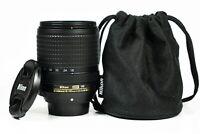 Nikon Nikkor AF-S 18-140mm F/3.5-5.6 G ED DX VR Camera Lens